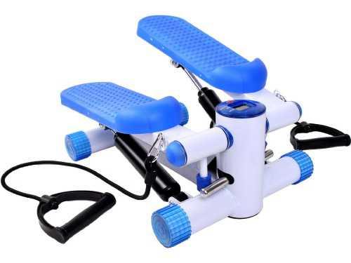 Air Stair Climber Stepper Exercise Machine Aerobic Fitness Step Equipment Bands