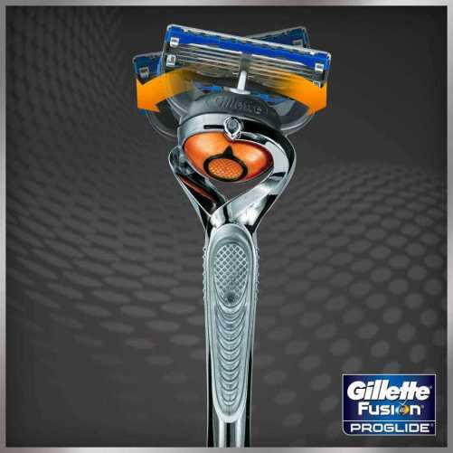 Gillette Fusion Pro Glide Power Silver Touch