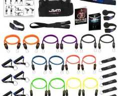 strong man resistance band set
