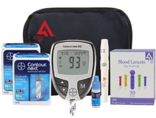 Active 1st True Test Glucometers