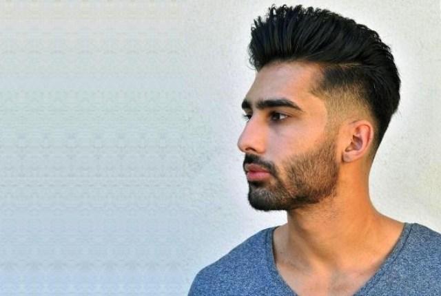 Erkek Düz Saç Modelleri