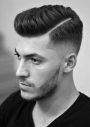 short latest hairstyle men