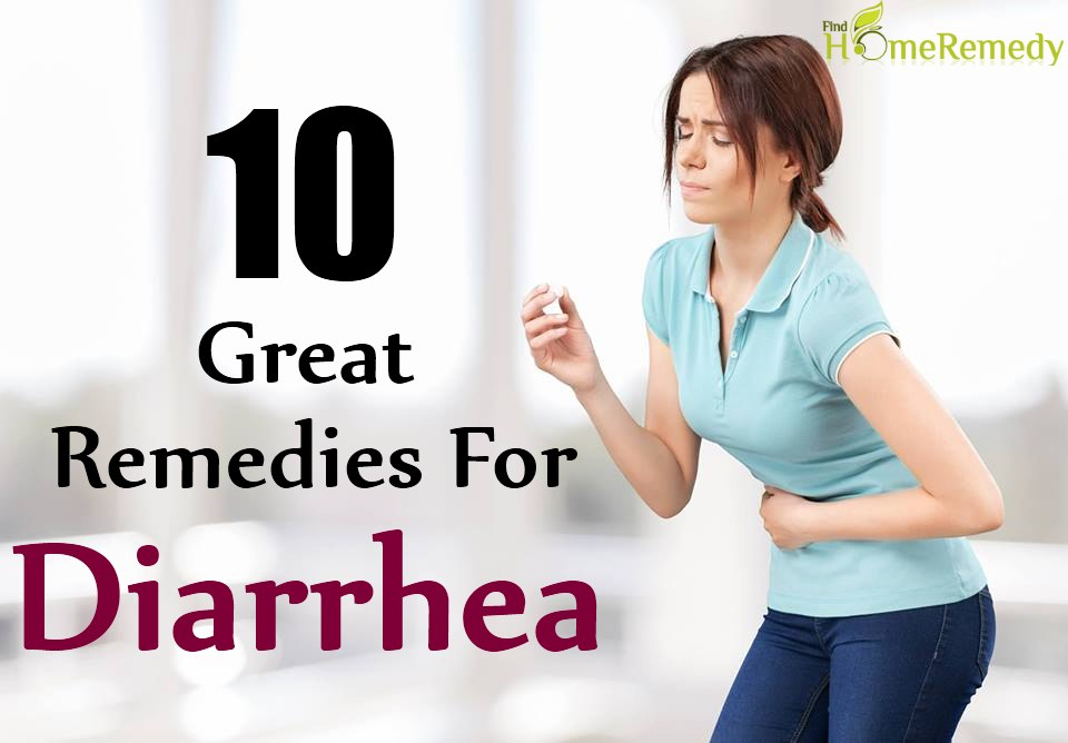 10 Great Remedies For Treatment Of Diarrhea