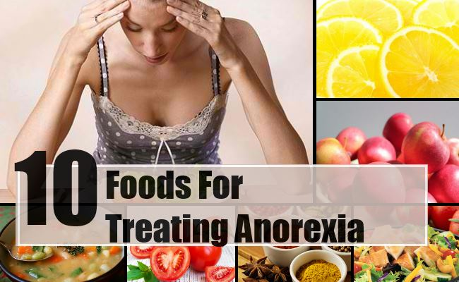 Foods For Treating Anorexia