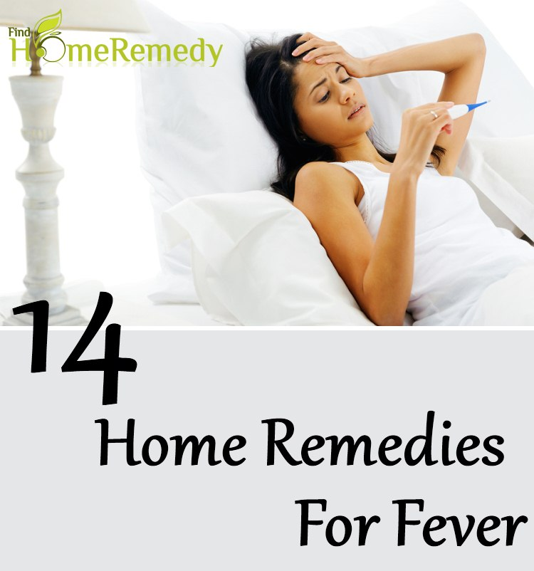 14 Home Remedies For Fever