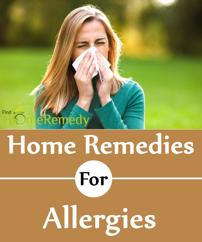 Simple Home Remedies For Allergies
