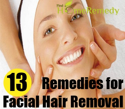 home remedies for facial hair growth