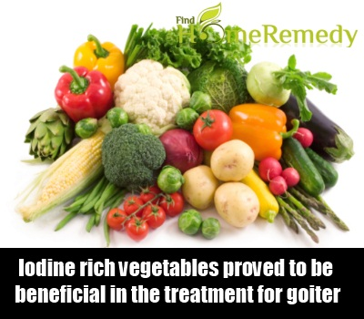 Iodine rich vegetables
