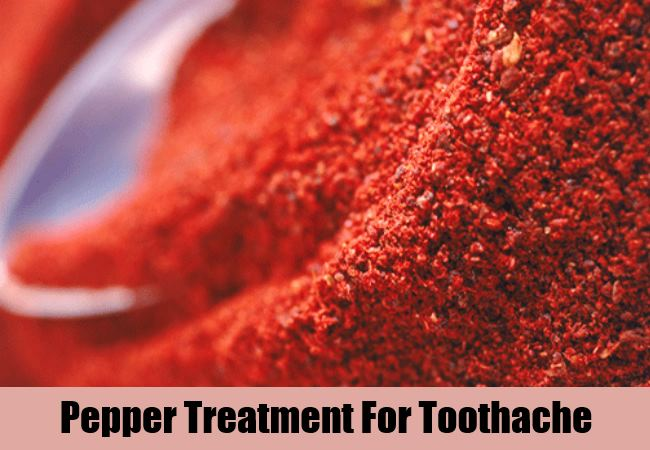 Pepper Treatment