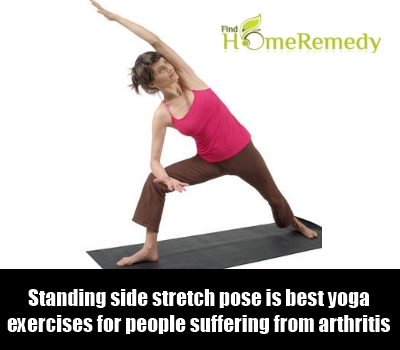 Standing Side Stretch Pose