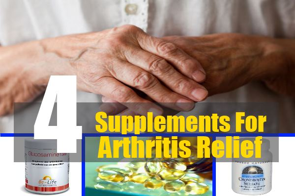 Supplements For Arthritis Relief