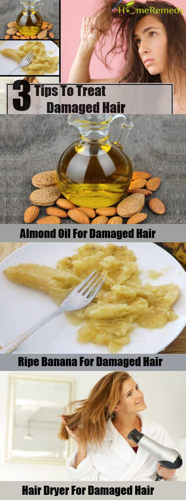 3 Tips To Treat Damaged Hair