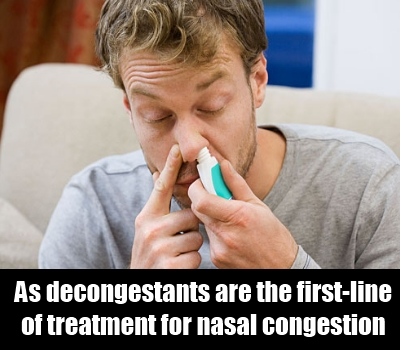 Use A Suitable Decongestant