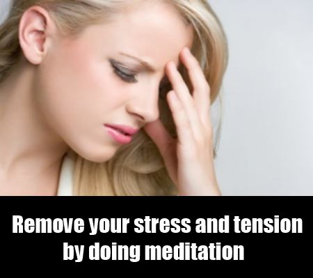 Remove Tension And Stress