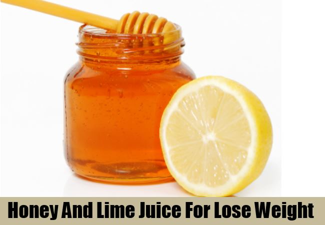 Honey And Lime Mix Juice