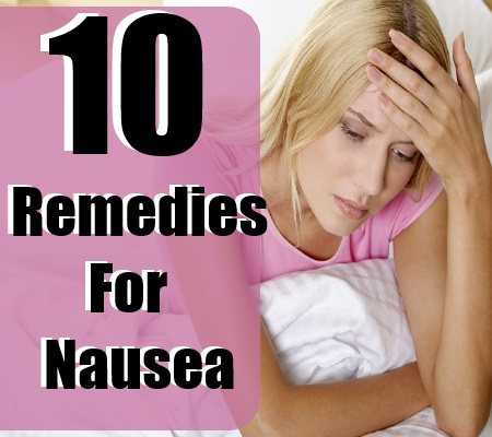 Remedies For Nausea