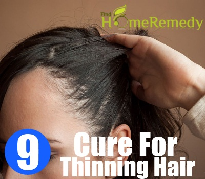 9 natural cure for thinning hair - how to cure thinning hair