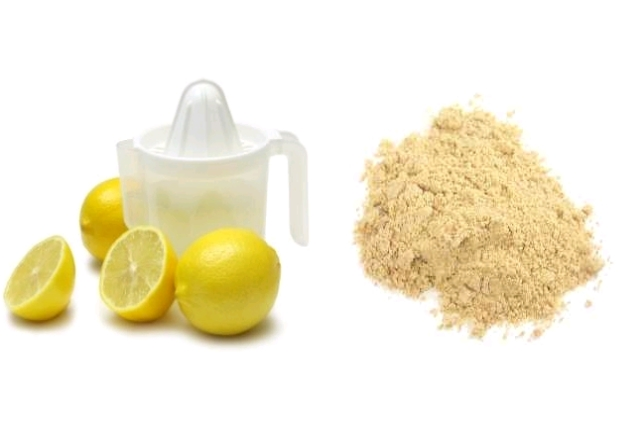 Asafoetida And Lemon Juice