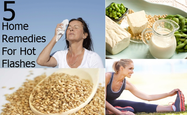 Home Remedies For Hot Flashes