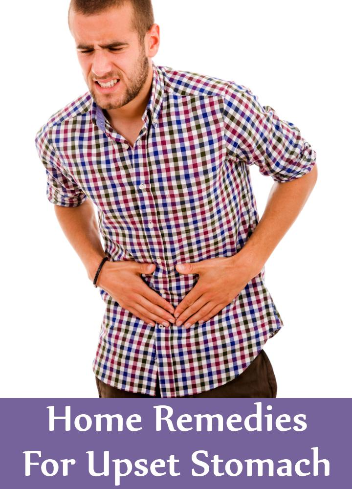 Home Remedies For Upset Stomach