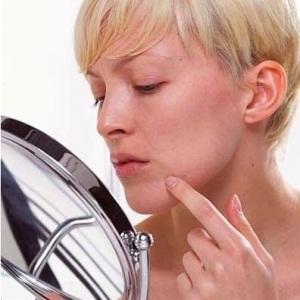 Cure large pores