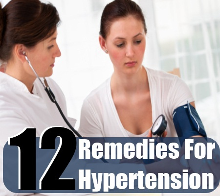 Remedies For Hypertension