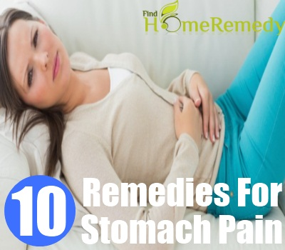 10 Home Remedies For Stomach Pain - Natural Treatments & Cure For