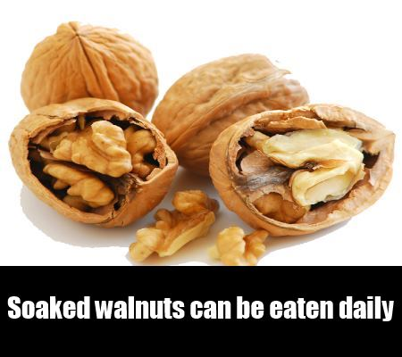 soaked walnuts