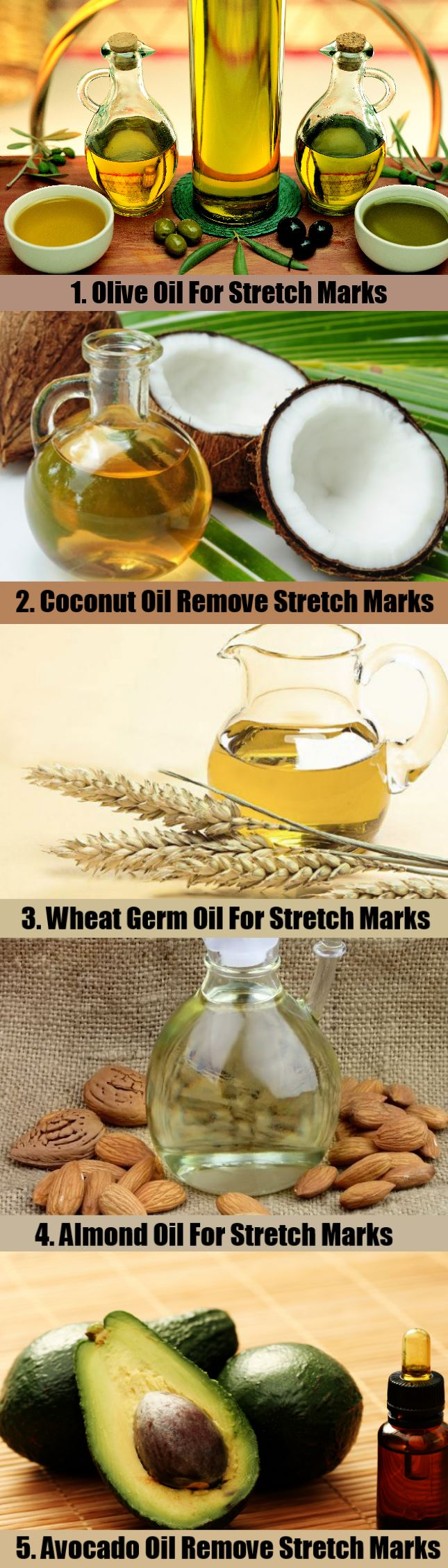 5 Natural Cures To Stretch Marks