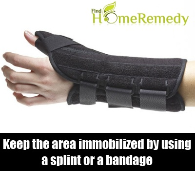 Immobilize The Area