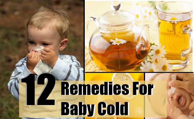 12 Top Home Remedies For Baby Cold Natural Treatments