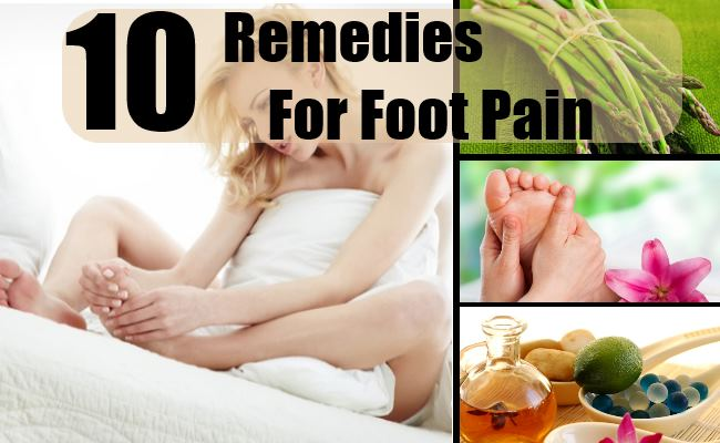 Remedies For Foot Pain