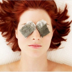 Cure eye puffiness