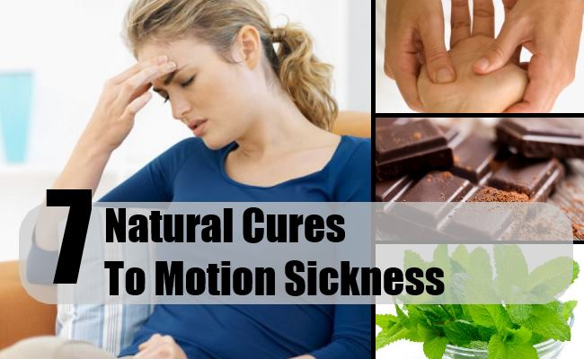 Natural Cure For Motion Sickness