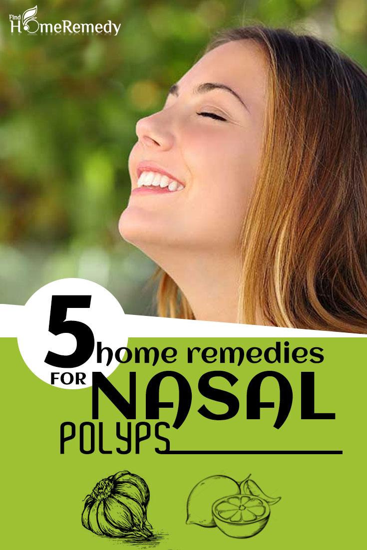 How To Cure Nasal Polyps At Home Naturally