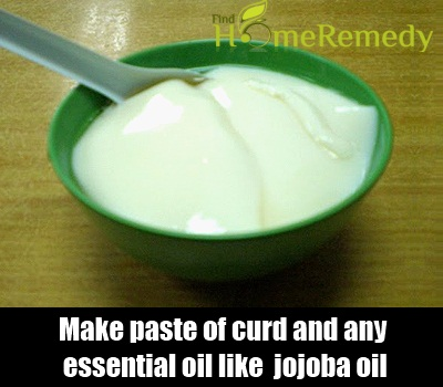Essential Oil and Curd