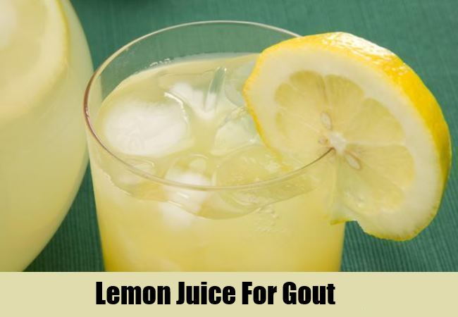 Natural Cures For Gout Symptoms