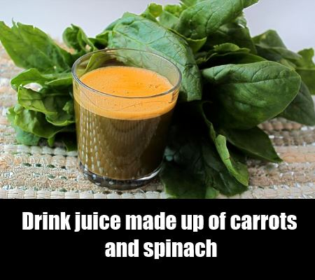 carrots and spinach