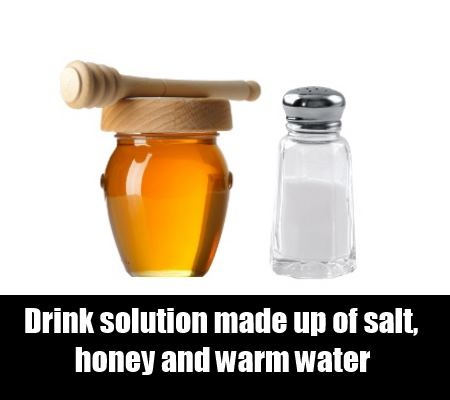 honey and salt