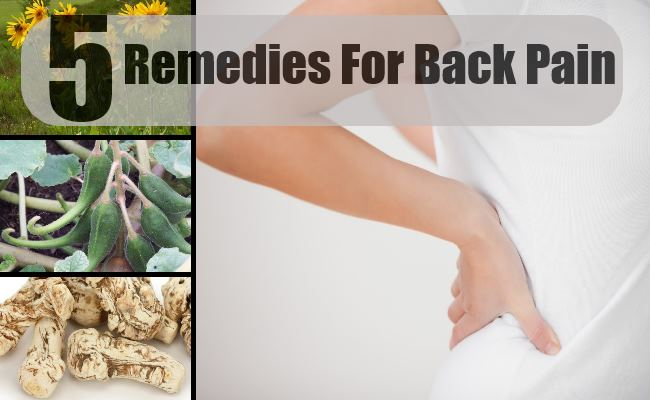 Remedies For Back Pain