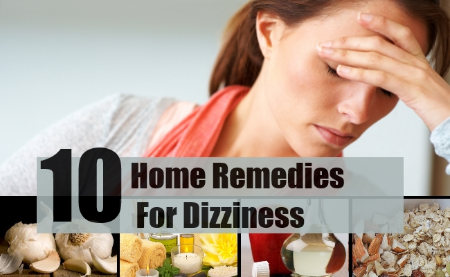 Remedies For Dizziness