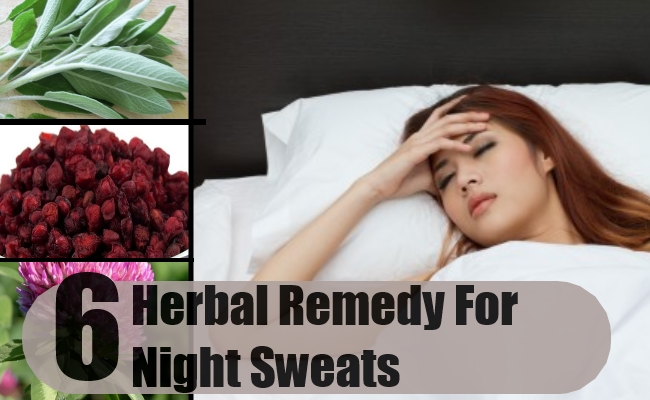 Remedy For Night Sweats