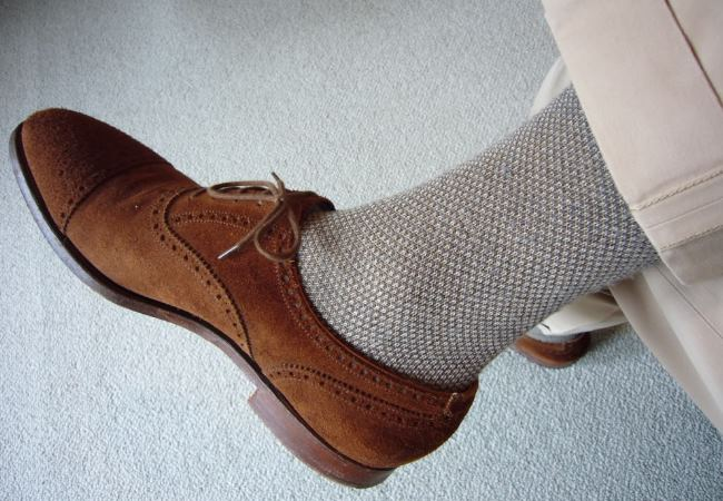 shoes and socks