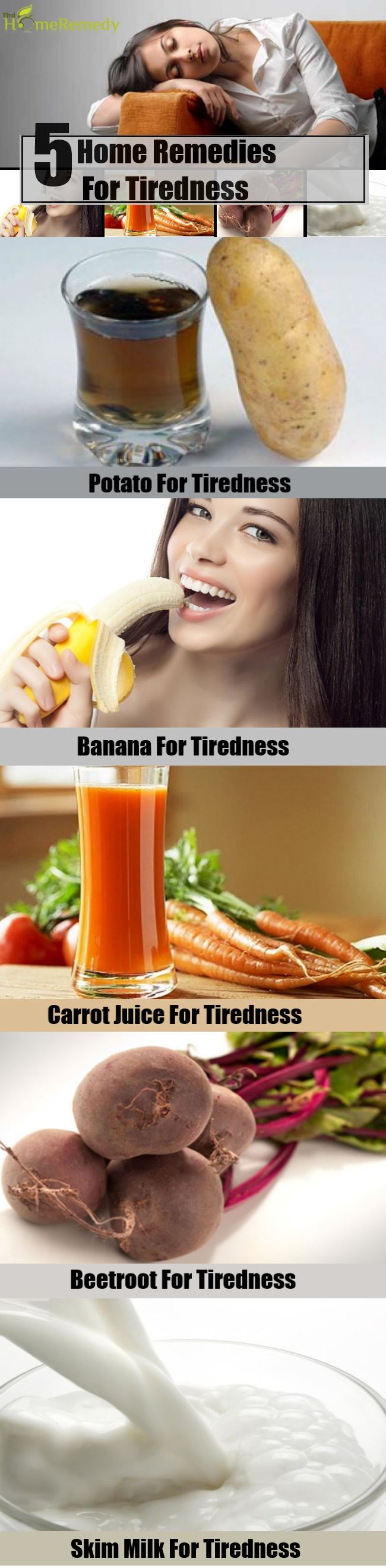 5 Home Remedies For Tiredness