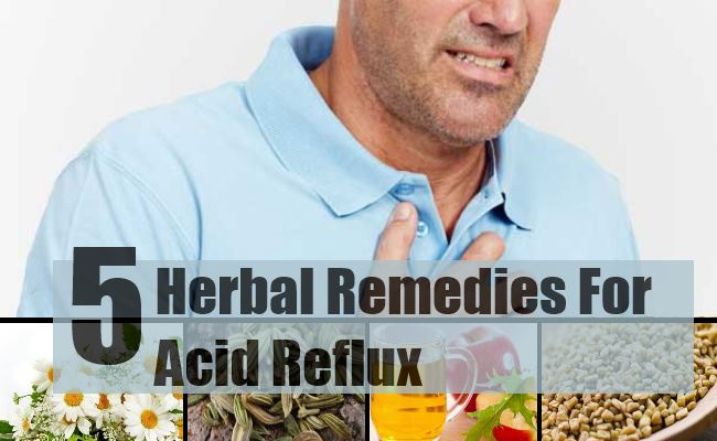 Best Herbal Remedies For Acid Reflux - How To Treat Acid
