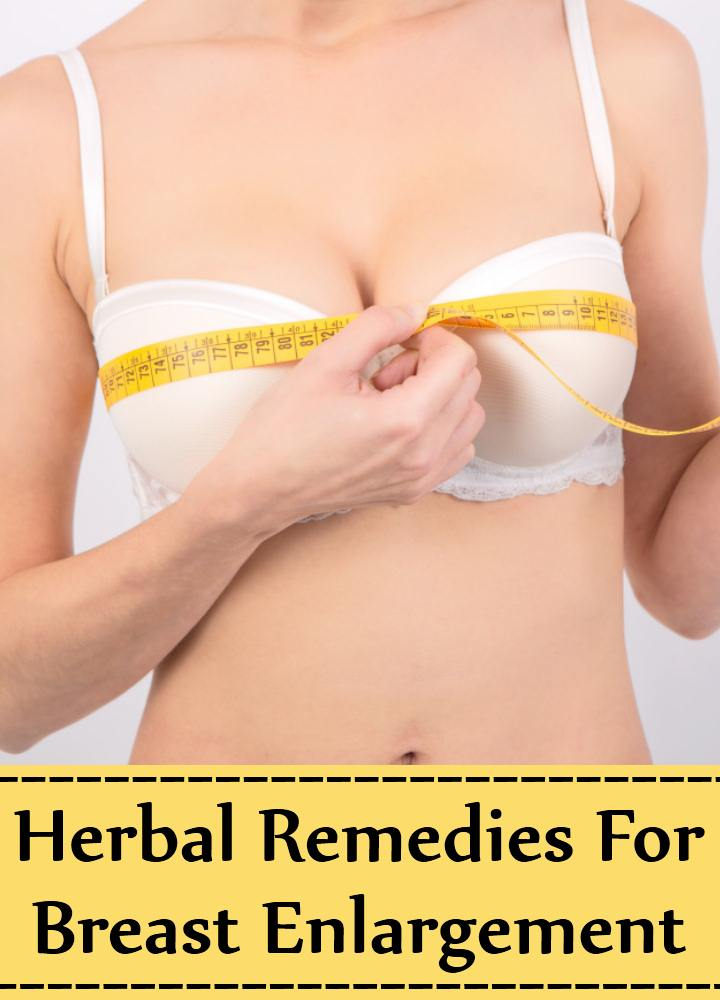 Herbal Remedies For Breast Enlargement
