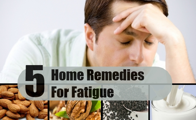 Remedies For Fatigue