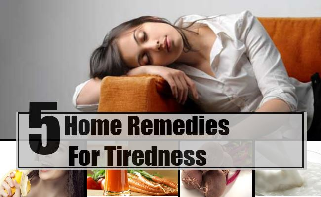 Remedies For Tiredness