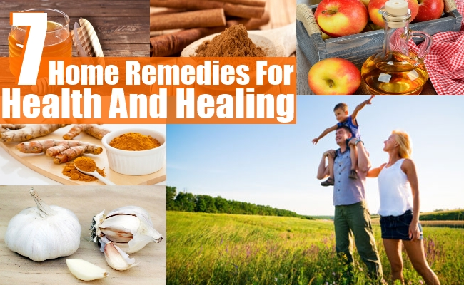 Remedies For Health And Healing