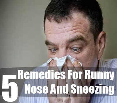 Runny Nose And Sneezing